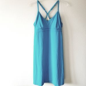 Athleta Racerback Swim Dress Shelf Bra size M
